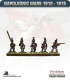 10mm Napoleonic Wars (1812-15): British Light Infantry (with command) - Firing