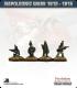 10mm Napoleonic Wars (1812-15): British Rifles (with command)