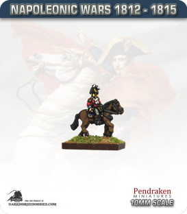 10mm Napoleonic Wars (1812-15): British Highlander General (mounted)