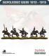 10mm Napoleonic Wars (1812-15): British Light Dragoons (with command)