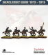 10mm Napoleonic Wars (1812-15): British Hussars (with command)