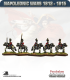 10mm Napoleonic Wars (1812-15): British Scots Greys Cavalry (with command)