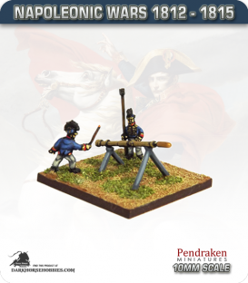 10mm Napoleonic Wars (1812-15): British 12pdr Rocket Troops