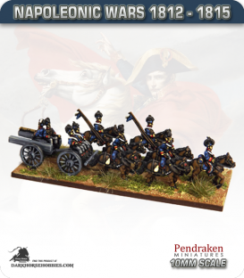 10mm Napoleonic Wars (1812-15): British Rocket Troops Team (moving)