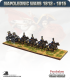 10mm Napoleonic Wars (1812-15): British Ammo Limber (with line team / out-riders)