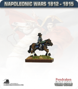 10mm Napoleonic Wars (1812-15): British Picton (mounted)