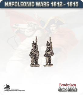 10mm Napoleonic Wars (1812-15): Brunswick Line Infantry - March Attack