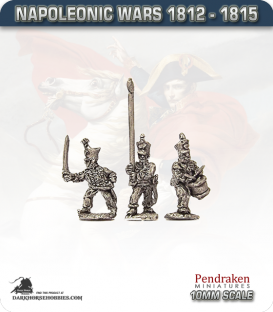 10mm Napoleonic Wars (1812-15): Brunswick Line Infantry Command
