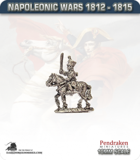 10mm Napoleonic Wars (1812-15): Brunswick Mounted Line Officers