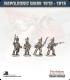 10mm Napoleonic Wars (1812-15): Brunswick Light Infantry (with command) - Firing