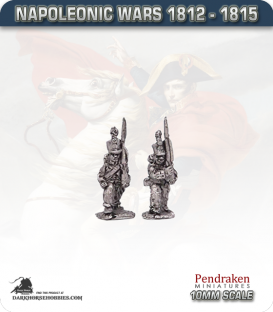 10mm Napoleonic Wars (1812-15): Dutch Line Infantry - March Attack