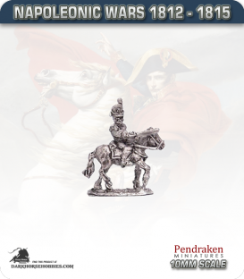 10mm Napoleonic Wars (1812-15): Belgian Mounted Officers