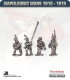10mm Napoleonic Wars (1812-15): Dutch Militia (with command) - March Attack
