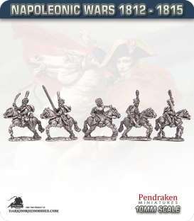 10mm Napoleonic Wars (1812-15): Dutch Hussars (with command)