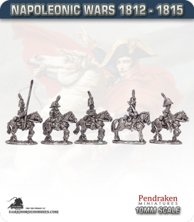 10mm Napoleonic Wars (1812-15): Dutch Carabiniers (with command)