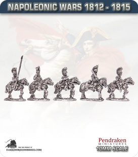 10mm Napoleonic Wars (1812-15): Belgian Carabiniers (with command)