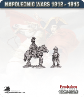 10mm Napoleonic Wars (1812-15): Prince of Orange and Officer