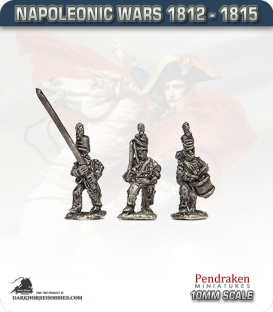 10mm Napoleonic Wars (1812-15): Hanoverian Line Command in Shako
