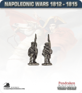 10mm Napoleonic Wars (1812-15): Hanoverian Line in Cap