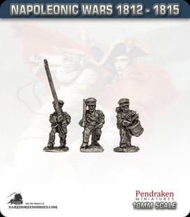 10mm Napoleonic Wars (1812-15): Hanoverian Line Command in Cap