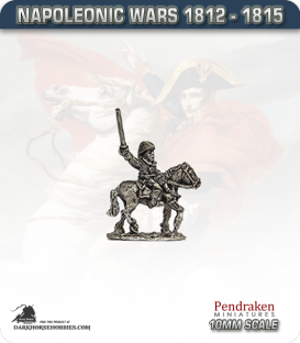 10mm Napoleonic Wars (1812-15): Hanoverian Mounted Officers