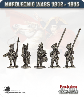 10mm Napoleonic Wars (1812-15): KGL Line Command