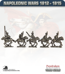10mm Napoleonic Wars (1812-15): KGL Hussars (with command)