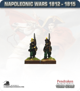 10mm Napoleonic Wars (1812-15): Nassau Line Infantry / Fusiliers