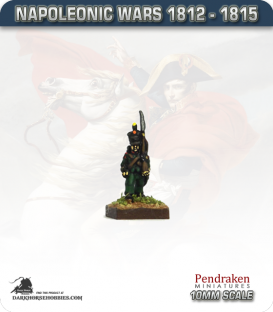 10mm Napoleonic Wars (1812-15): Nassau Light Infantry / Voltigeur