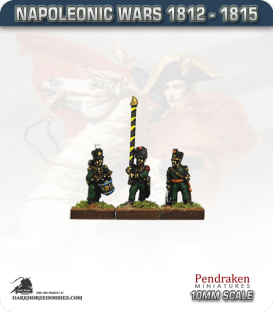 10mm Napoleonic Wars (1812-15): Nassau Light Infantry Command