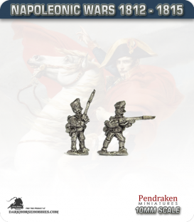 10mm Napoleonic Wars (1812-15): Prussian Line/Fusiliers - Firing