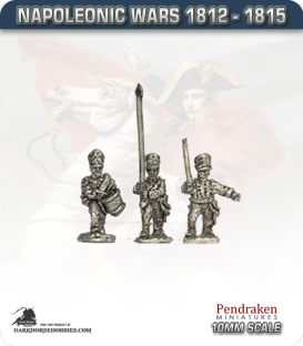 10mm Napoleonic Wars (1812-15): Prussian Line/Fusiliers Command