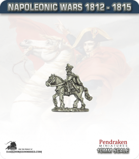 10mm Napoleonic Wars (1812-15): Prussian General Blucher (mounted)