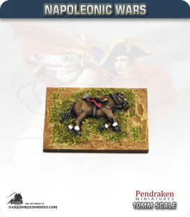 10mm Napoleonic Wars: Horse Casualty Markers