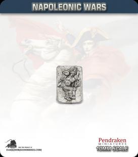 10mm Napoleonic Wars: Austrian Grenadier Casualties in Bearskin