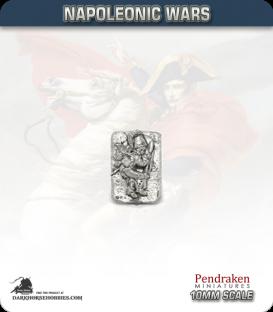 10mm Napoleonic Wars: Bavarian Casualties in Helmet