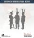 10mm Revolutionary War (1792-1797): Austrian Fusilier - Marching