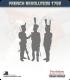 10mm Revolutionary War (1792-1797): French Command in Bicorne