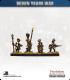 10mm Seven Years War: Austrian Tricorn Foot - Advancing