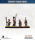 10mm Seven Years War: Austrian Tricorn Foot - Port Fire