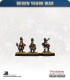 10mm Seven Years War: Austrian Grenadier - Marching
