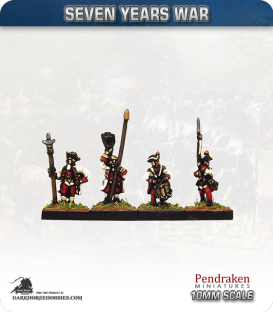 10mm Seven Years War: Austro-Hungarian Tricorn - March Attack