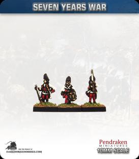 10mm Seven Years War: Austro-Hungarian Grenadier - Port Fire