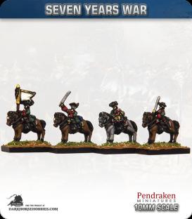 10mm Seven Years War: Austrian Dragoons