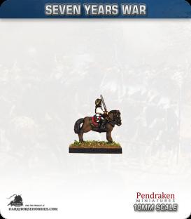 10mm Seven Years War: Austrian Field Officers