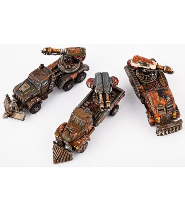 Dropzone Commander: Resistance - Fire Wagons