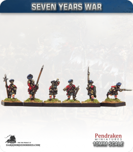 10mm Seven Years War: British Scots March Attack/Charging