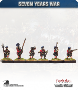 10mm Seven Years War: British Scots Firing/Port Fire