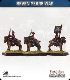 10mm Seven Years War: British Horse Grenadiers