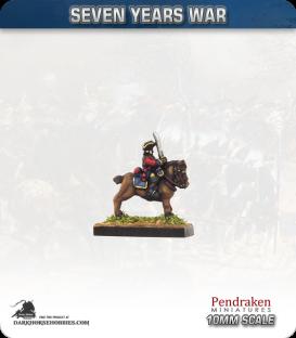10mm Seven Years War: British Field Officers